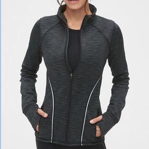 GapFit Orbit Fleece Full-Zip Mockneck Jacket